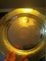 10 inch beautiful piece of Depression glass - $10 (Lakewood)