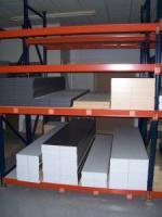 12 ft. industrial racks 2 sections - $500 (Shreveport, La.)