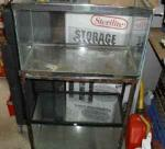 (2) 10 GALLON AQUARIUMS ON A STEEL STAND - $15 (LORDSTOWN)