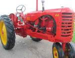 44 Massey tractor and MH sq. baler (SE Ohio)