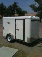 6x10 enclosed trailer - $1995 (hominy ok)