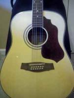 Beautiful Ibenez 12 string acoustic - $225 (Statesboro)