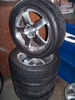 BMW - 4 Dunlop tires 245-40 R17 and MB Motoring Rims