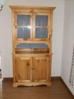Brand New! Country pine hutch - $495 (Walker MN)