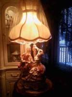 CAPODIMONTE LAMP - $350 (ROME)
