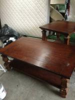 coffee table and end table - $60 (denver area)