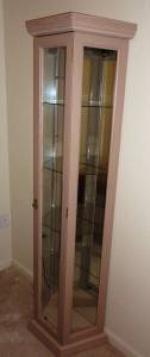 Curio Cabinet - $150 (Valdosta)