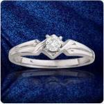 diamond ring, white gold - $350 (thornton 80229)
