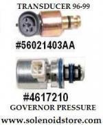 Dodge transmission pressure solenoid transducer sensor