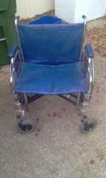 EXTRA WIDE WHEEL CHAIR - $300 (HUNTSVILLE/TONEY)