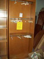 fabric hanging rack - $39 (Galesburg)