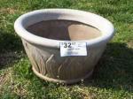 Faux Crete Planter, Fiberglass - $15 (Springfield, Tn)