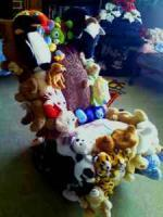 Folk Art Stuffed Animal Rocking Chair - $99 (Vilas Trading Post)