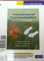 FTCC COM-120 (Interpersonal Communication) Textbook & Lab Access Code - $40 (Fayetteville, NC)