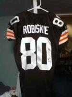 Game worn autographed Brian Robiskie Rookie jersey - $250 (parma)