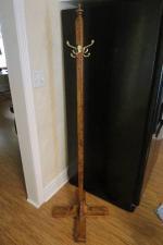 Handmade Wooden Coat Rack - $20 (Alcester, SD)