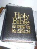 HOLY BIBLE King James Version - $26 (Wernersville)