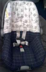 Infant Boys Evenflo Carseat - $35 (Stillwater, Oklahoma )