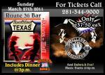 Live Concert The Bellamy Brothers At Route 36 Bar in Rosenberg TX (832)595-1800
