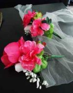 LOTS OF WEDDING DECORATIONS (Pink and White) - $60 (Mansfield)
