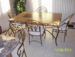 Marble kitchen table & bar stools - $500 (Dubuque)