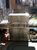 MEMBERS MARK STAINLESS STEEL BBQ GRILL - $295 (LITTLETON)
