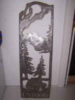Metal Unimog cutout - $35 (RR)