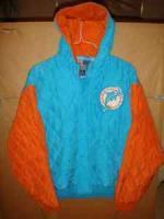 Miami Dolphind Silk, Jacket, By Jeff Hamilton, XL, New w-Tags - $30 (Allentown)