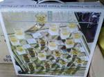 NEW 27 PCS. SHOT GLASS CHECKERS GAME - $20 (WESTERN HILLS)
