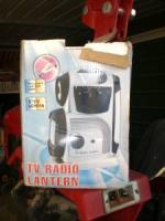 New AC/DC TV Radio & Lantern - $25 (adel ga )