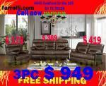 New sofa sets - $949 (San Antonio)