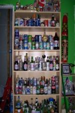 Old Beer bottles and beer cans.........