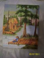 Painting on canvas - $80 (Thibodaux, La)