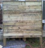 Reclaimed Wood Rustic Headboard (Queen) - $275 (gordonsville)
