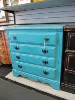 Small Teal Dresser in Excellent Condition! - $119 (Norman, OK)