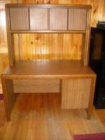 Solid Computer Desk w/ Printer Stand - $275 (saratoga springs)