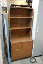 Storage Cabinet with Hutch/Shelves - $40 (Littleton)