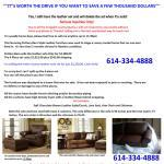 STUNNING 4 piece POTTERY BARN STYLE LEATHER furniture set never used - $2250 (never used / columbus)