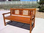 Tropical Wood Bench - $399 (SE Denver)