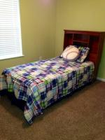 Twin Bed - $200 (Adel)