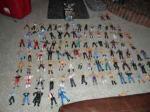 Wrestling Figures - $300 (Franklin,oh)