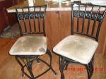 Wrought Iron Bar Stools - $25 (Billings MT)